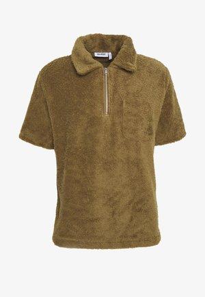 UNISEX LEIF ZIP  - Poloshirt - dark beige