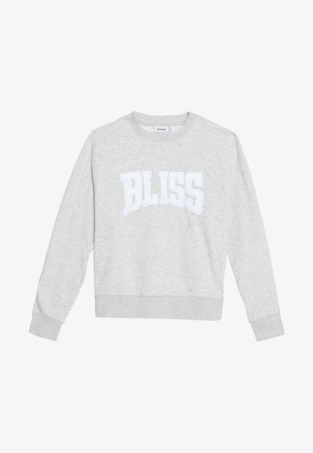 UNISEX ALBIN BLISS - Collegepaita - greymelange