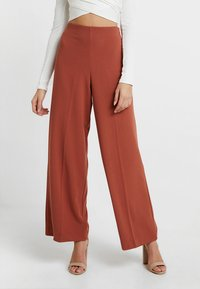 Weekday - JULIA  - Trousers - rust red - 0
