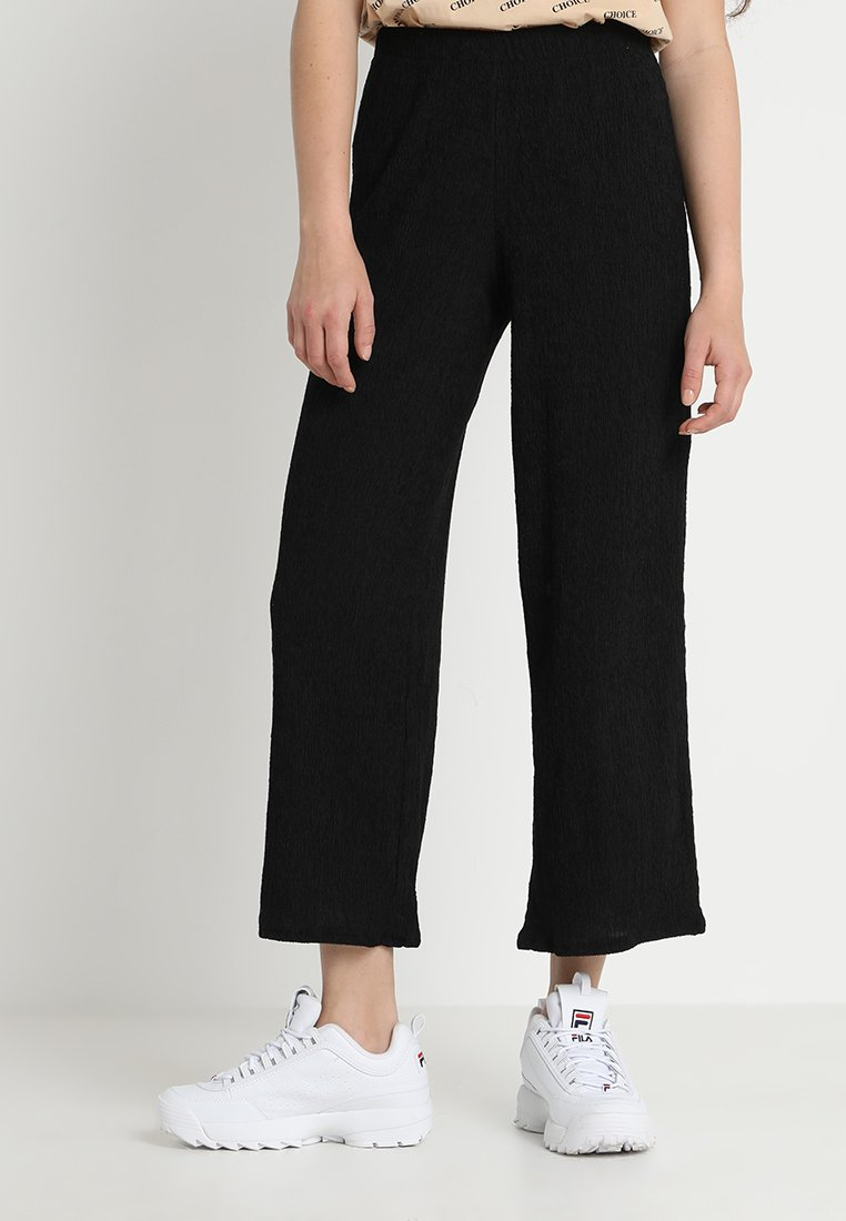 Weekday - KENDRICK TROUSER - Trousers - black