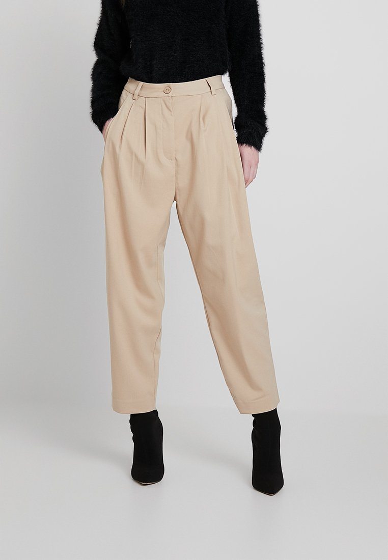 Weekday - MILLY TROUSERS - Stoffhose - beige