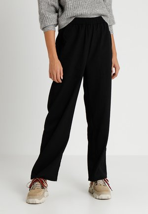 SWEEP TROUSERS - Pantaloni - black