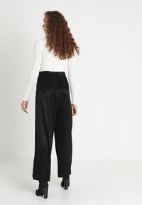 Weekday - DANUBE TROUSER - Trousers - black - 2