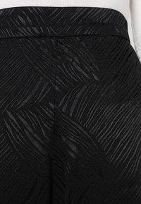 Weekday - DANUBE TROUSER - Trousers - black - 4