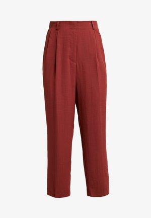 RITZ  - Pantalones - rust red