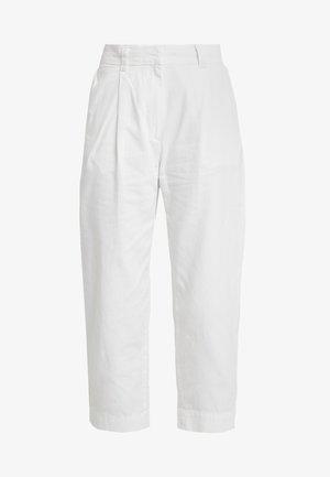 MOLINO TROUSERS - Pantalones - off white