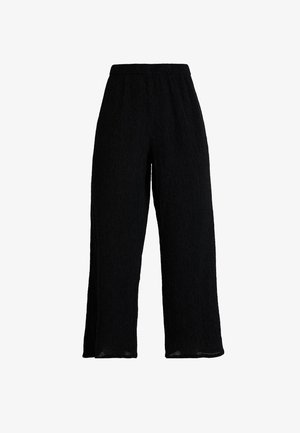 LULA TROUSERS - Pantaloni - black