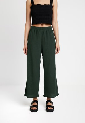 LULA TROUSERS - Pantaloni - dark green