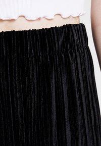 Weekday - KENDRICK TROUSER - Kalhoty - black - 4