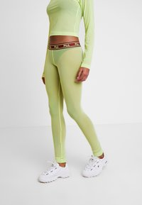 Weekday - FILA FOR WEEKDAY HAVEN - Leggings - Trousers - sharp green - 3