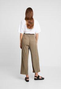 Weekday - WASSILY TROUSER - Kalhoty - khaki - 2