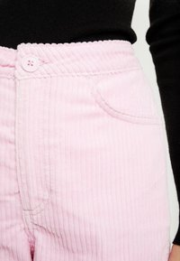 Weekday - TROUSERS - Trousers - pink - 4
