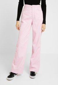 Weekday - TROUSERS - Trousers - pink - 0