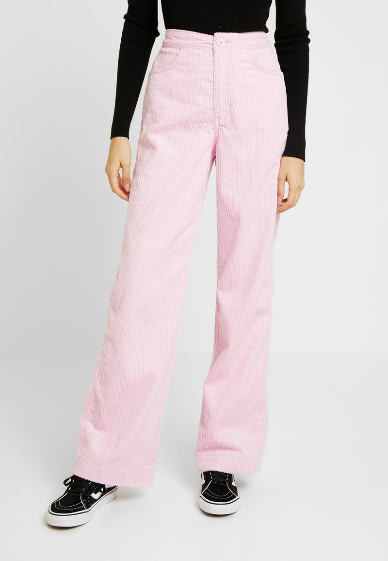 Weekday - TROUSERS - Stoffhose - pink