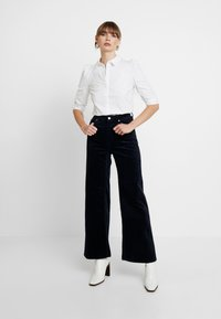 Weekday - TROUSERS - Pantalon classique - navy - 2
