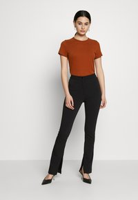 Weekday - ALECIA TROUSER - Trousers - black - 1