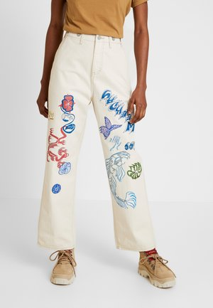 CARPENTER TROUSER - Kalhoty - bone white