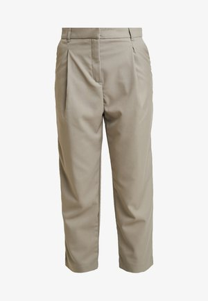 MARSHA TROUSER - Trousers - light mole