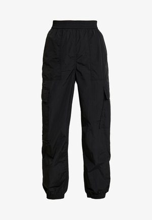 MAX TROUSERS - Tracksuit bottoms - black