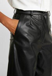 Weekday - REGINA TROUSER - Trousers - black - 3