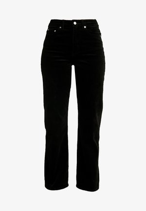 ROW TROUSERS - Pantaloni - black