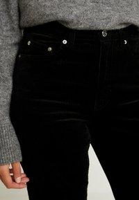 Weekday - ROW TROUSERS - Kalhoty - black - 3