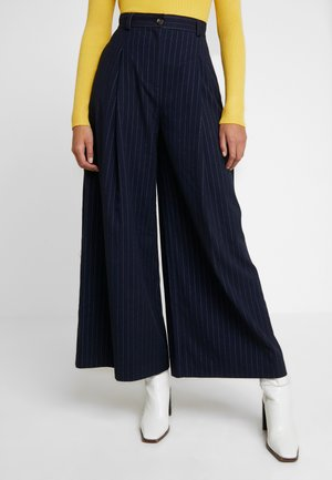 ODINA TROUSER - Trousers - navy