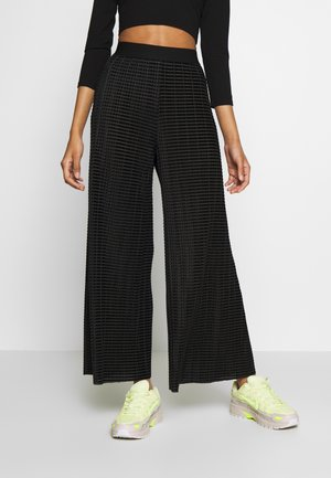 WASSILY TROUSERS - Pantaloni - black