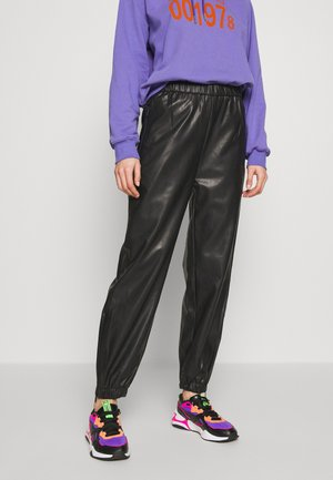 DEANNA TROUSER - Kalhoty - black