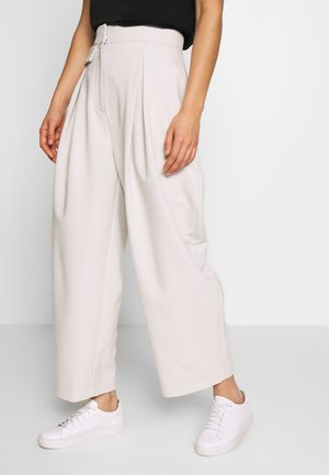 NIGELLA TROUSER - Stoffhose - mole dusty light