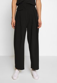 Weekday - NIGELLA TROUSER - Bukse - black - 0