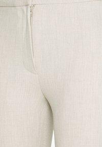 Weekday - CHANA TROUSER - Trousers - beige - 2