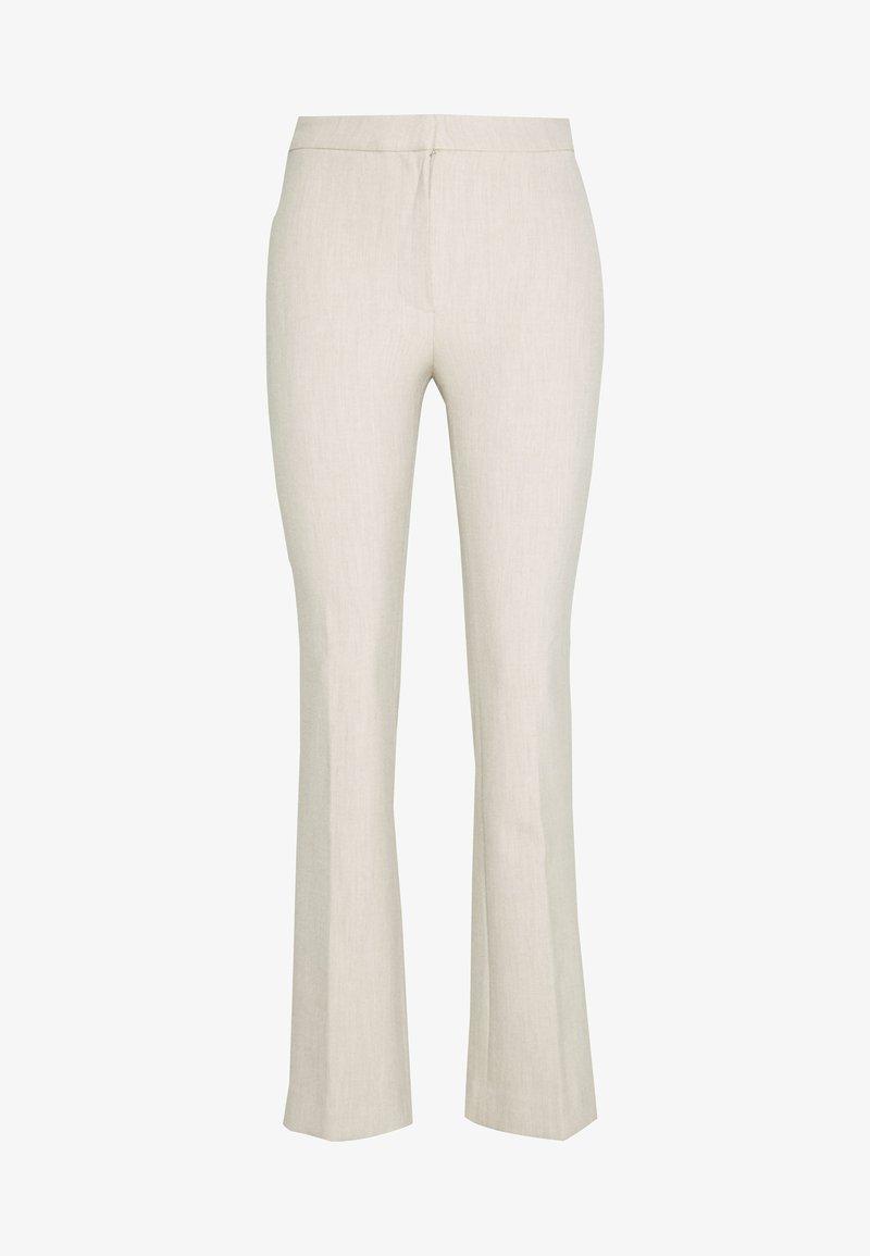 Weekday - CHANA TROUSER - Trousers - beige