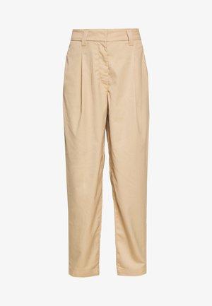TROUSER - Pantaloni - beige