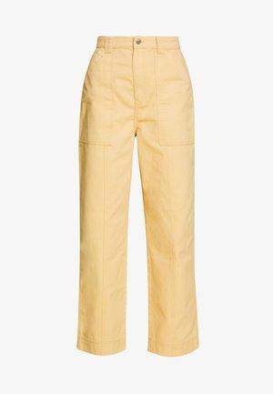 GWYNETH TROUSER - Trousers - medium beige