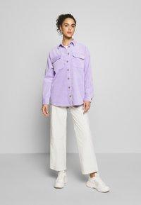 Weekday - GWYNETH TROUSER - Trousers - light beige - 1