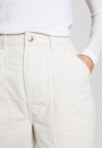 Weekday - GWYNETH TROUSER - Trousers - light beige - 5