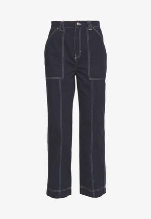 GWYNETH TROUSER - Trousers - dark navy