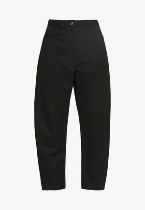 ZOIE TROUSER - Bukse - black