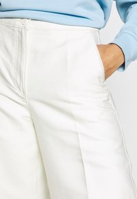 Weekday - TROUSERS - Trousers - white - 4