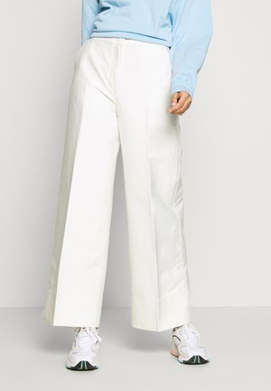 TROUSERS - Trousers - white