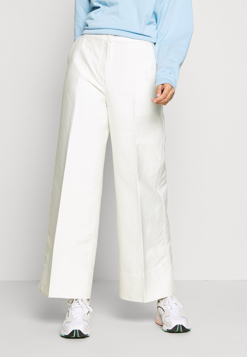 Weekday - TROUSERS - Trousers - white