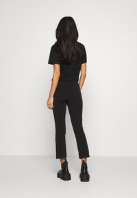 Weekday - TESS TROUSERS - Bukse - black - 3