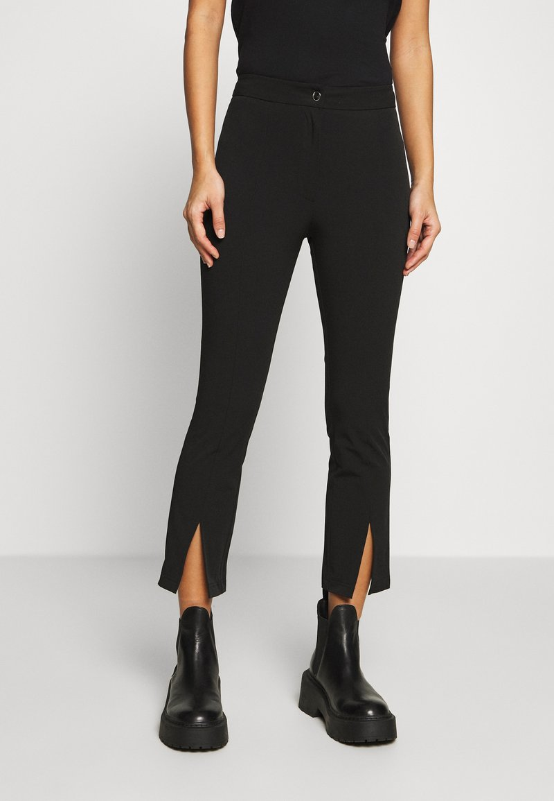 Weekday - TESS TROUSERS - Bukse - black