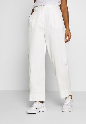 MINO TROUSERS - Bukse - white