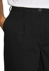 Weekday - MINO TROUSERS - Trousers - black - 4