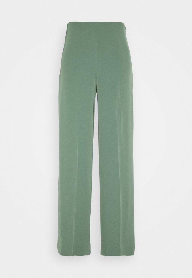 JULIA FLUID TROUSER - Pantaloni - dark green