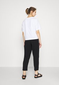 Weekday - BARB TROUSERS - Pantaloni - black - 2