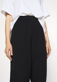 Weekday - BARB TROUSERS - Pantaloni - black - 4