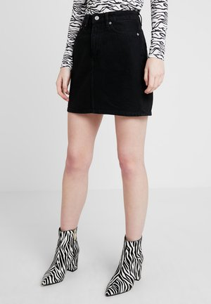 WEND SKIRT - Gonna di jeans - glory black